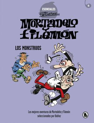MORTADELO Y FILEMÓN. LOS MONSTRUOS (ESENCIALES IBÁÑEZ. Nº5)