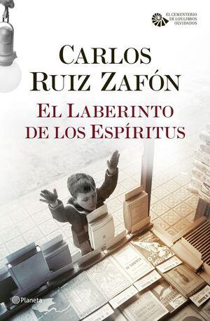 CEMENTERIO DE LOS LIBROS OLVIDADOS, EL. Nº4: EL LABERINTO DE LOS ESPÍRITUS