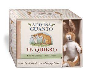 ADIVINA CUÁNTO TE QUIERO (PACK CON PELUCHE)