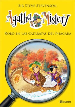 AGATHA MISTERY. Nº4: ROBO EN LAS CATARATAS DEL NIÁGARA