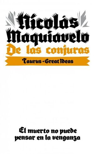 DE LAS CONJURAS