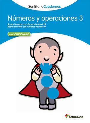 CUADERNO NÚMEROS Y OPERACIONES Nº3