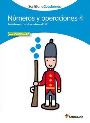 CUADERNO NÚMEROS Y OPERACIONES Nº4