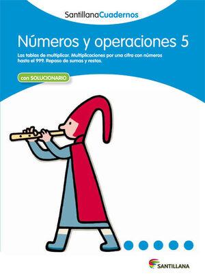 CUADERNO NÚMEROS Y OPERACIONES Nº5