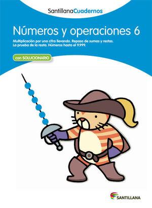 CUADERNO NÚMEROS Y OPERACIONES Nº6