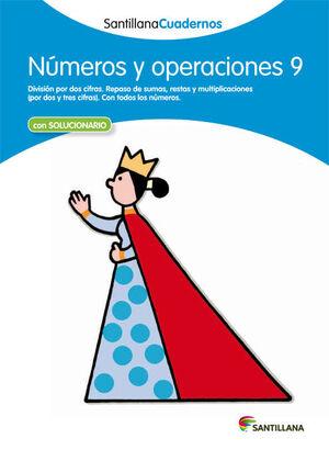 CUADERNO NÚMEROS Y OPERACIONES Nº9