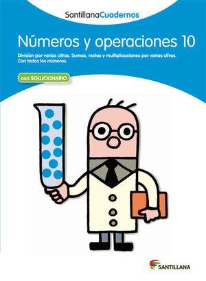 CUADERNO NÚMEROS Y OPERACIONES Nº10