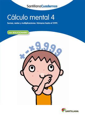 CUADERNO CÁLCULO MENTAL Nº4