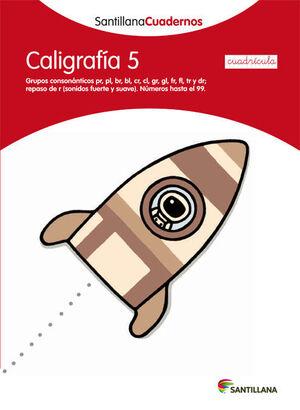CUADERNO CALIGRAFÍA Nº5 CUADRÍCULA