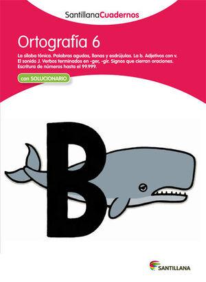 CUADERNO ORTOGRAFÍA Nº6