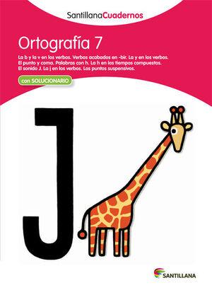 CUADERNO ORTOGRAFÍA Nº7
