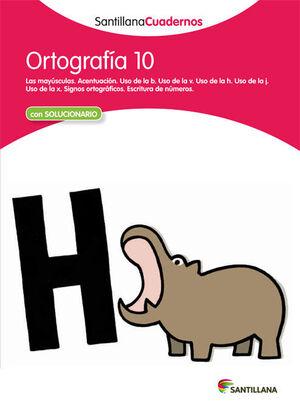 CUADERNO ORTOGRAFÍA Nº10