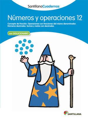 CUADERNO NÚMEROS Y OPERACIONES Nº12