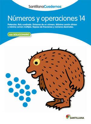 CUADERNO NÚMEROS Y OPERACIONES Nº14