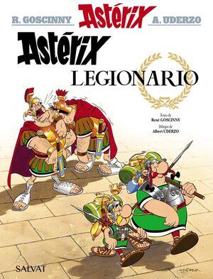 ASTÉRIX. Nº10: ASTÉRIX LEGIONARIO