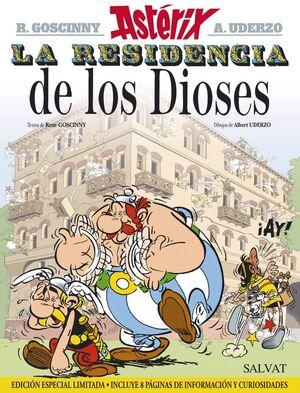 ASTÉRIX. Nº17: LA RESIDENCIA DE LOS DIOSES (EDICIÓN ESPECIAL LIMITADA 2015)