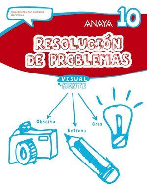 RESOLUCIÓN DE PROBLEMAS 10.