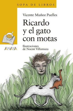 RICARDO Y EL GATO CON MOTAS