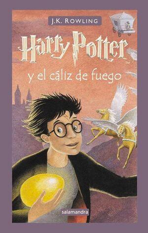 HARRY POTTER Nº4: EL CÁLIZ DE FUEGO