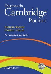 CAMBRIDGE POCKET DICCIONARIO INGLÉS / ESPAÑOL  FLEXI/CD ROM