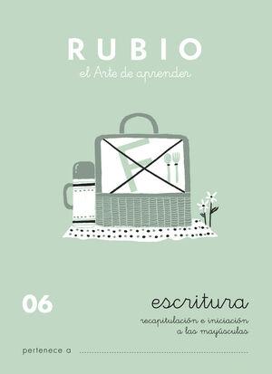CUADERNO ESCRITURA RUBIO Nº06