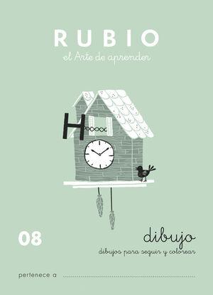 CUADERNO ESCRITURA RUBIO Nº08