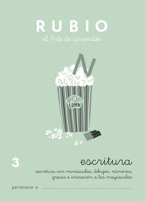 CUADERNO ESCRITURA RUBIO Nº3