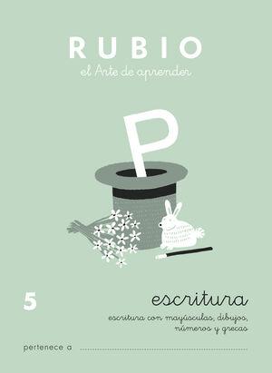 CUADERNO ESCRITURA RUBIO Nº5