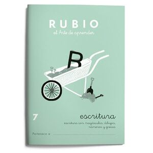 CUADERNO ESCRITURA RUBIO Nº7