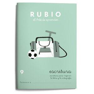 CUADERNO ESCRITURA RUBIO Nº9