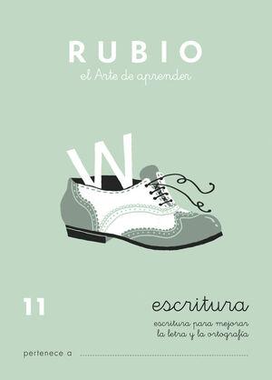 CUADERNO ESCRITURA RUBIO Nº11