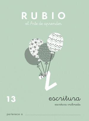 CUADERNO ESCRITURA RUBIO Nº13
