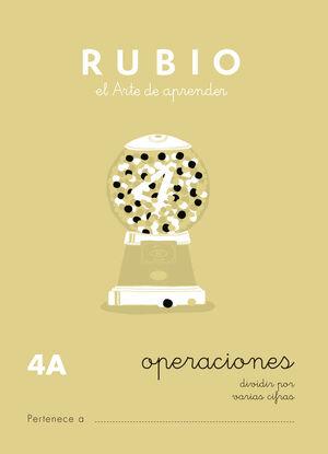CUADERNO OPERACIONES RUBIO Nº4A
