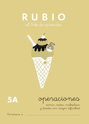 CUADERNO OPERACIONES RUBIO Nº5A