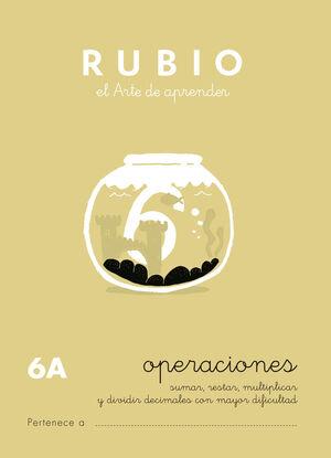 CUADERNO OPERACIONES RUBIO Nº6A
