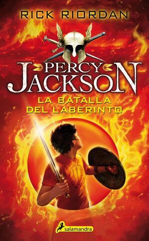 PERCY JACKSON. Nº4: LA BATALLA DEL LABERINTO