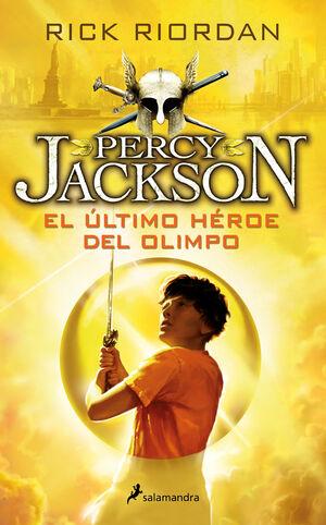 PERCY JACKSON. Nº5: EL ÚLTIMO HÉROE DEL OLIMPO