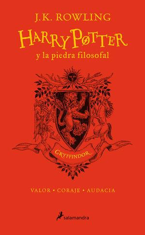 HARRY POTTER Y LA PIEDRA FILOSOFAL (EDICIÓN GRYFFINDOR DEL 20º ANIVERSARIO) (HAR