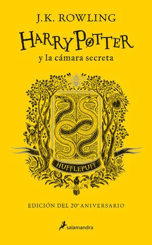 HARRY POTTER Y LA CÁMARA SECRETA (EDICIÓN HUFFLEPUFF DEL 20º ANIVERSARIO) (HARRY