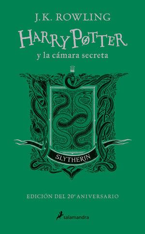 HARRY POTTER Y LA CÁMARA SECRETA (EDICIÓN SLYTHERIN DEL 20º ANIVERSARIO) (HARRY