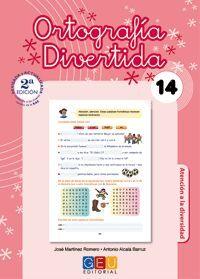 ORTOGRAFÍA DIVERTIDA Nº14