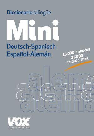 DICCIONARIO MINI DEUTSCH-SPANISCH / ESPAÑOL-ALEMÁN