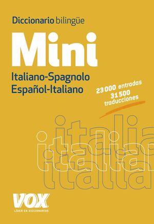 DICCIONARIO MINI ITALIANO-SPAGNOLO / ESPAÑOL-ITALIANO